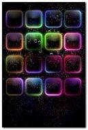 Glow Bubble Shelves