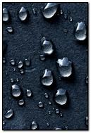 Water-Drops-Dark-Background