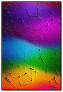 Cracked Rainbow Waves