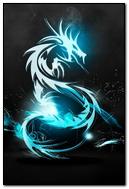 Dark Blue Dragon