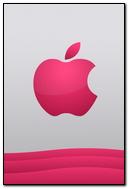 Pink-apple-logo