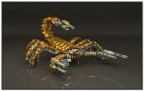Escorpión 3D