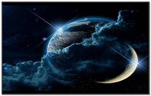 Earth N Moon