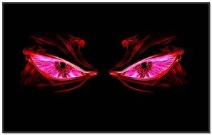 Red Smoking Eyes
