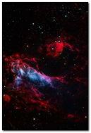 Dark Red Nebula