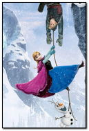 Frozen Disney Anna, Krisoff, Olaf