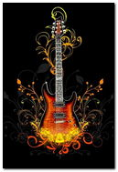 Guitar Abstract