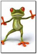 Frog Dance Cute Cool Motion