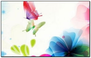 Vector Design Flowers And Butterflies