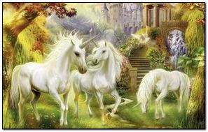 Fantasy Unicorns-wallpaper-1024x768