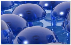 Glas Oberflche Oval Transparent Form