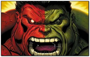 Red-Green Hulk