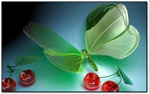 Butterfly Toy 3D