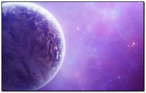 Earth In Purple Dust