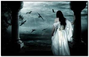 Gothic Lady Alone