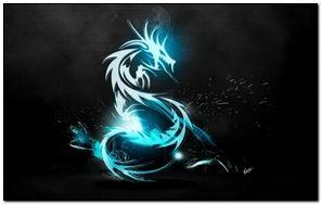 Dragon Symbol-wallpaper-1440x900