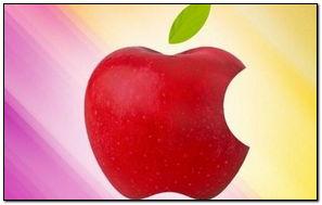 Regenbogen Apple Hintergrund
