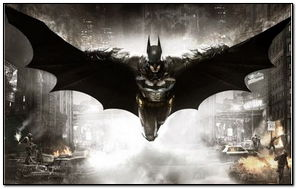Batman-flying-over-arkham-city
