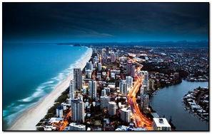 Bờ biển thành phố