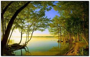 Side View Of Lake HD