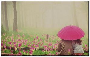 Mood Man Woman Girl Flowers