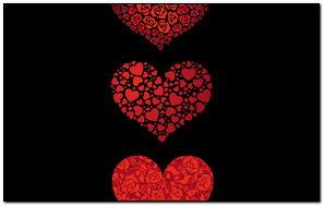 Set Of Hearts - 922896