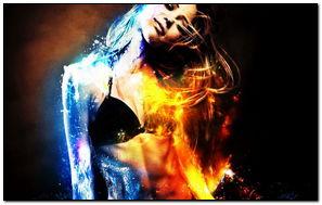Fire & Water Girl