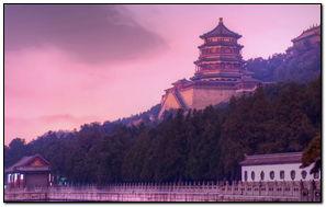 Beijing At Dusk