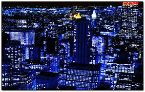 BLUE CITY LIGHTS