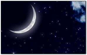 Moonlight Moon Night Nature Landscape