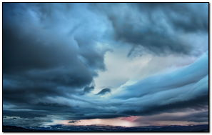 Stormy Clouds-wallpaper