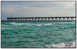 Ocean Pier-wallpaper