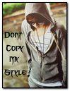No copie el estilo Mah