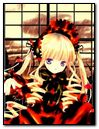 Rozen Maiden Shinku Girl Blond Rain