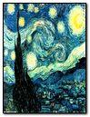 Van Gogh-noite estrelada
