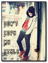 Dont Copy My Style