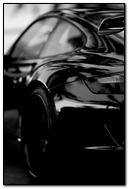 Beautiful Black Porsche Car