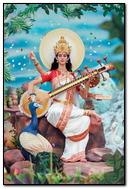 Goddess Of Hindu Saraswati