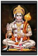 Hanuman assis