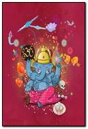Playful Little Ganesh