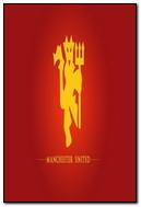 Dark Red Background Of Manchester United