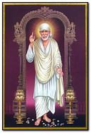 Standing Sai Baba