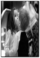 Kids Kiss Cute