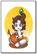 Little Krishna Drawing