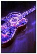 Lighted Guitar