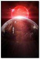 Earth Red Sunrise