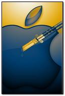 Mac Apple Logo Creative