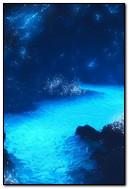 Amazing Blue Water Lake