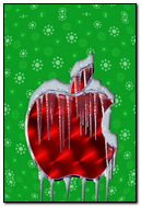 Christmas Apple Ice Logo