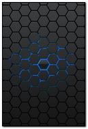 Blue Black Wall Like